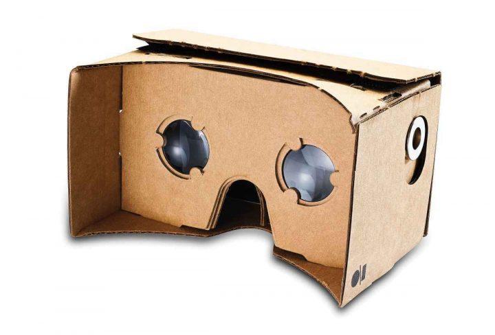 La realidad virtual llega de la mano de las gafas Cardboard