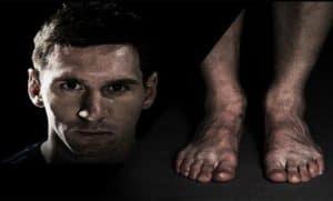 cuidado pies futbolistas