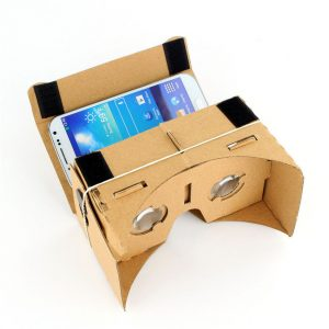 gafas de realidad virtual de carton
