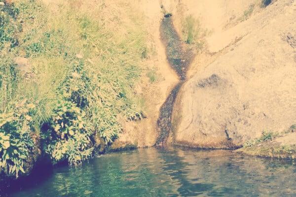 Barranco del Río Glorieta donde se realiza barranquismo